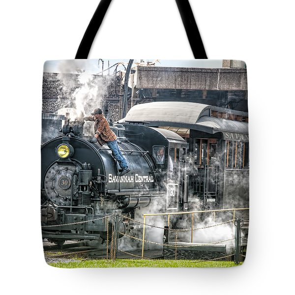 Steam Engine #30 Tote Bag