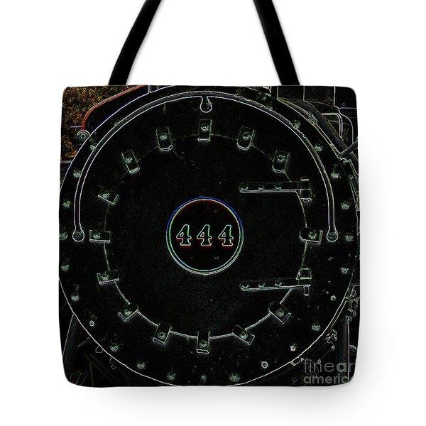 Steam Engine 444 Tote Bag by Kim Pate