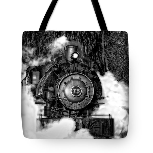 Steam Engine Jan 2016 In Hdr Tote Bag