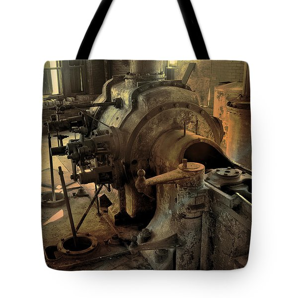 Steam Engine No 4 Tote Bag