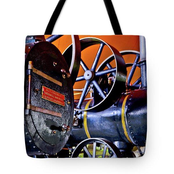 Steam Engines - Locomobiles Tote Bag