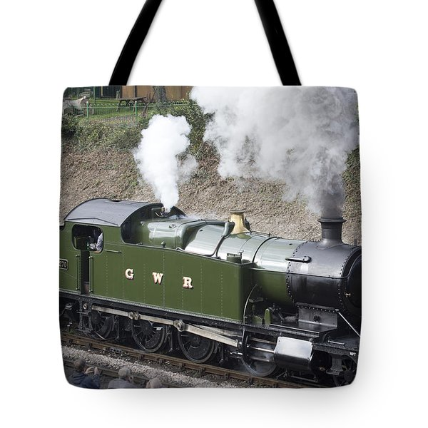 Gwr Steam Locomotive 4270 Tote Bag