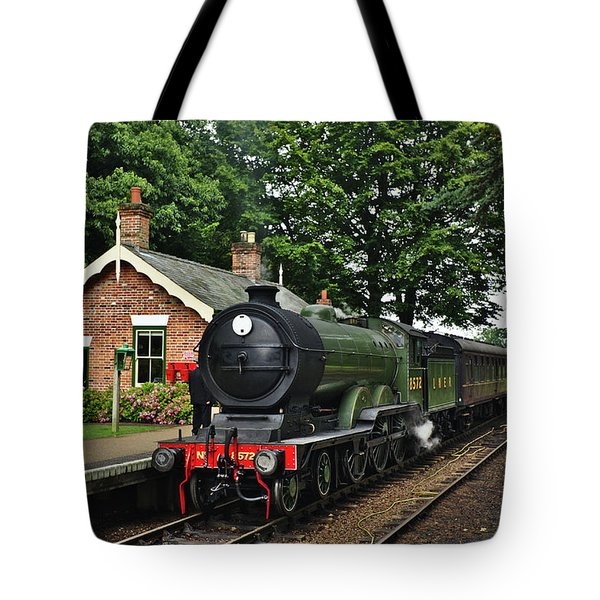 Steam Locomotive In England Tote Bag