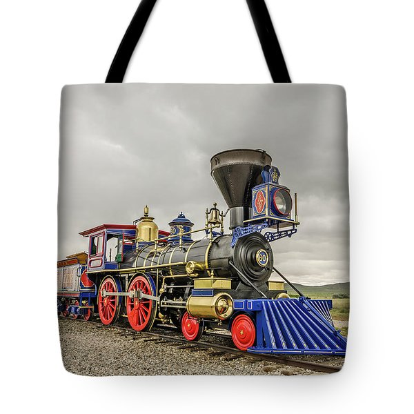 Tote Bag featuring the photograph Steam Locomotive Jupiter by Sue Smith