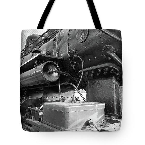 Steam Locomotive Side View Tote Bag