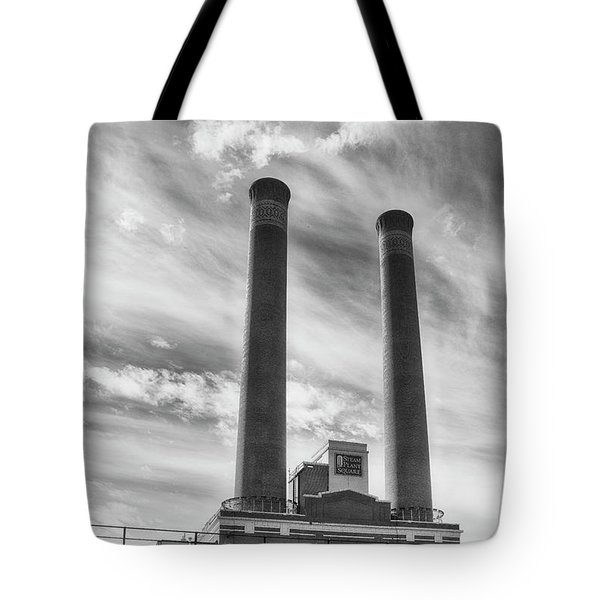 Steam Plant Square Tote Bag