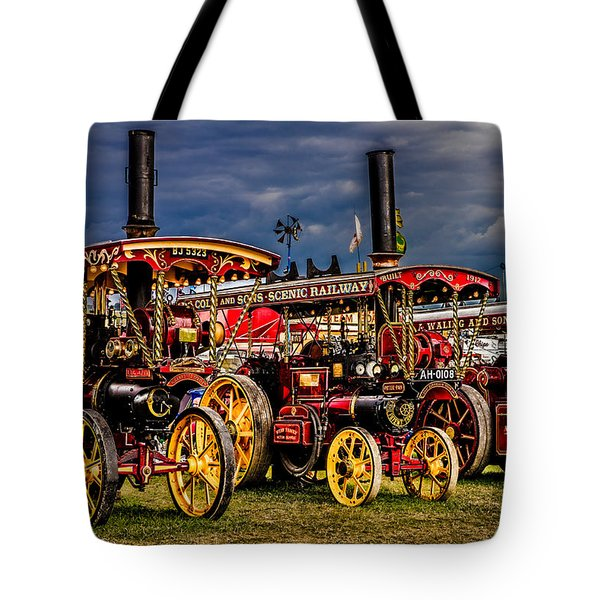 Tote Bag featuring the photograph Steam Power by Chris Lord