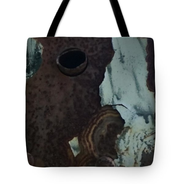Rusted Away Tote Bag