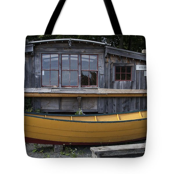 Steam Shed Tote Bag