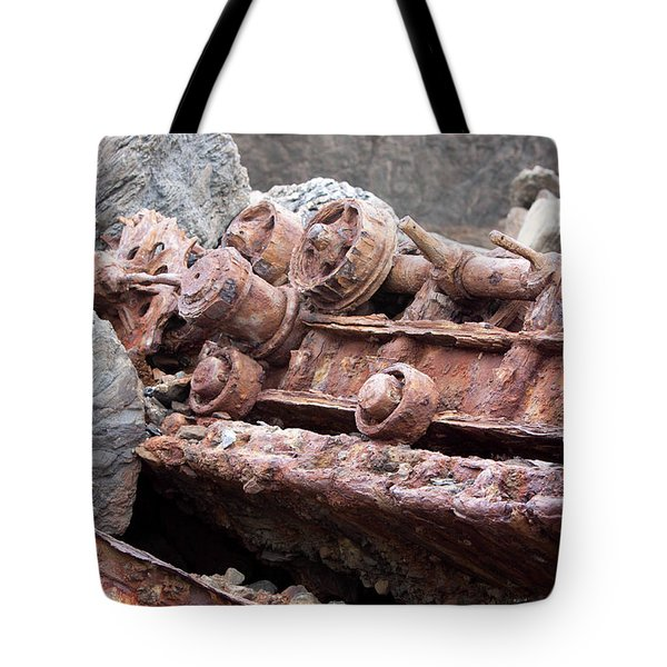 Steam Shovel Number Four Tote Bag by Kandy Hurley