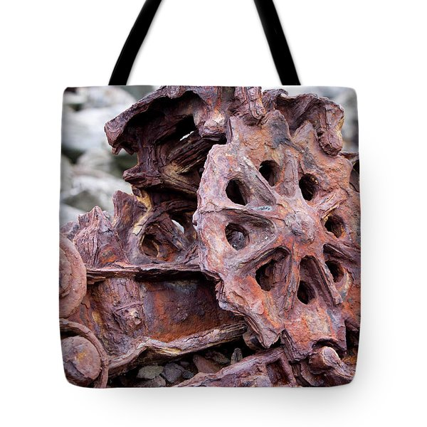 Steam Shovel Number Two Tote Bag