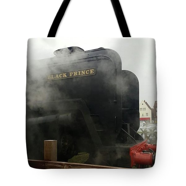 Steam Train At Sheringham Tote Bag