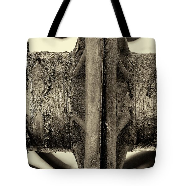 Tote Bag featuring the photograph Steam Train Series No 31 by Clare Bambers