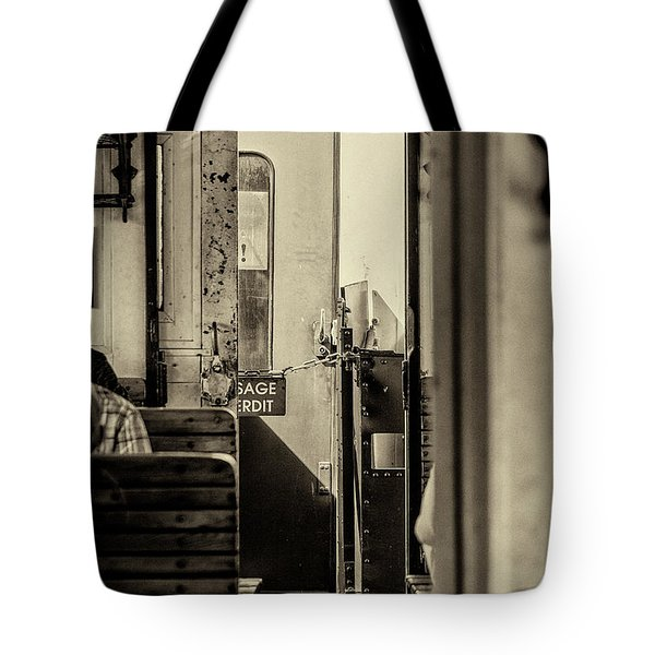 Tote Bag featuring the photograph Steam Train Series No 33 by Clare Bambers