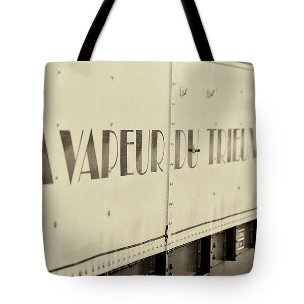 Tote Bag featuring the photograph Steam Train Series No 34 by Clare Bambers