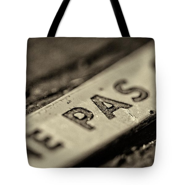 Tote Bag featuring the photograph Steam Train Series No 35 by Clare Bambers