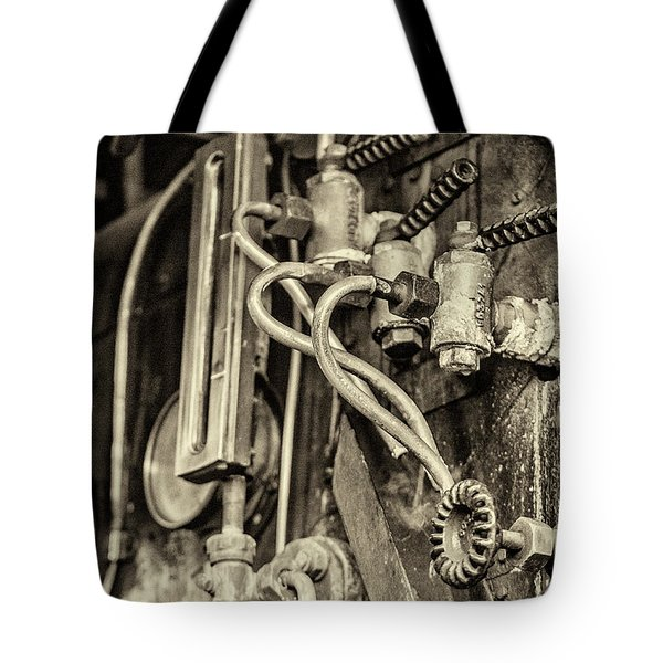 Tote Bag featuring the photograph Steam Train Series No 36 by Clare Bambers