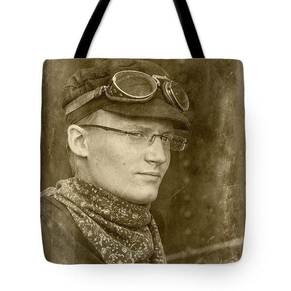 Tote Bag featuring the photograph Steam Train Series No 37 by Clare Bambers