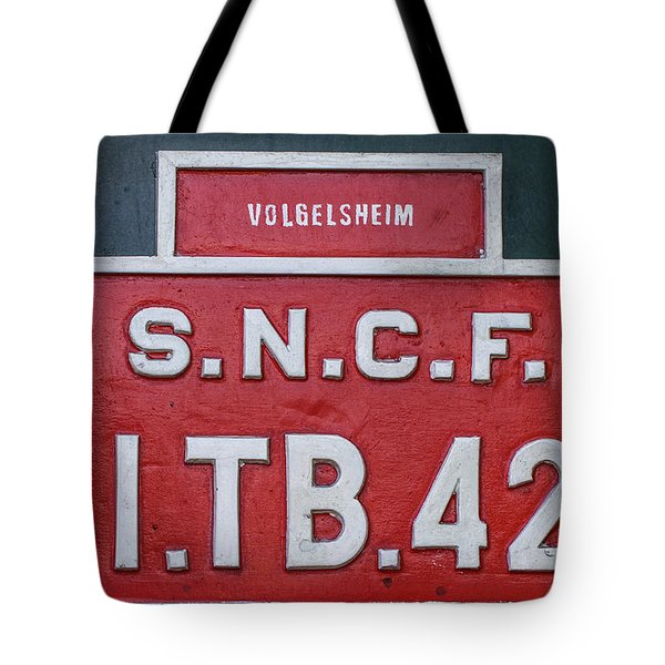 Tote Bag featuring the photograph Steam Train Series No 38 by Clare Bambers