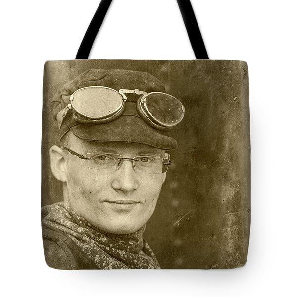 Tote Bag featuring the photograph Steam Train Series No 39 by Clare Bambers