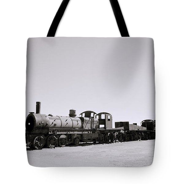 Steam Trains Tote Bag by Shaun Higson
