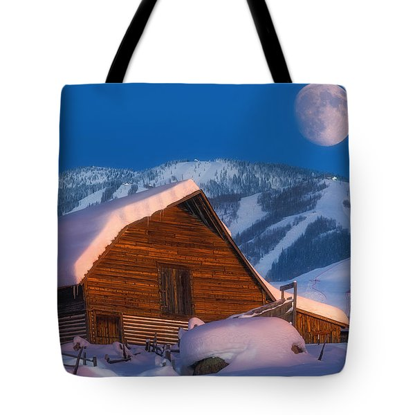 Steamboat Dreams Tote Bag