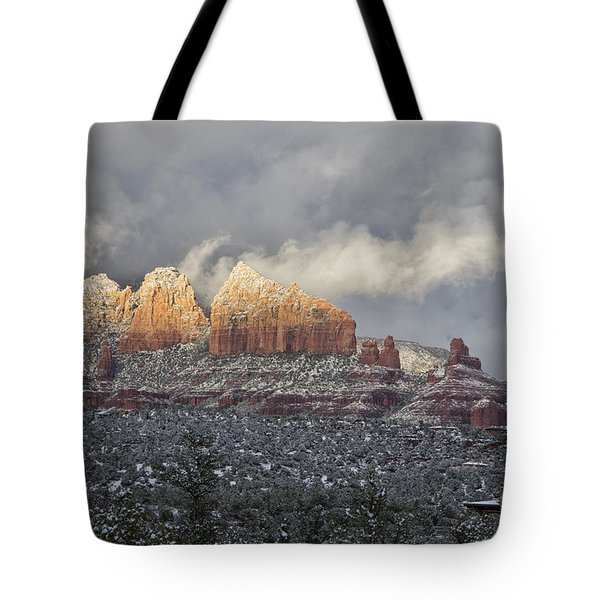 Steamboat Tote Bag by Tom Kelly