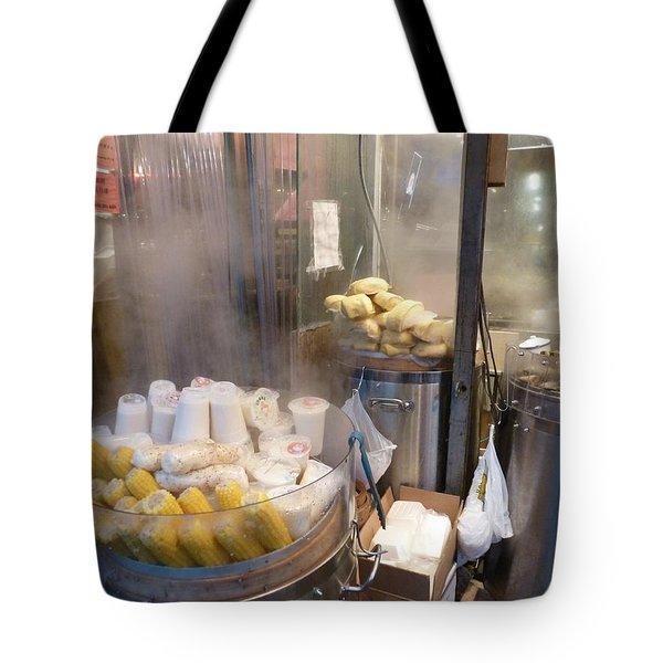 Steamed Dumplings Tote Bag