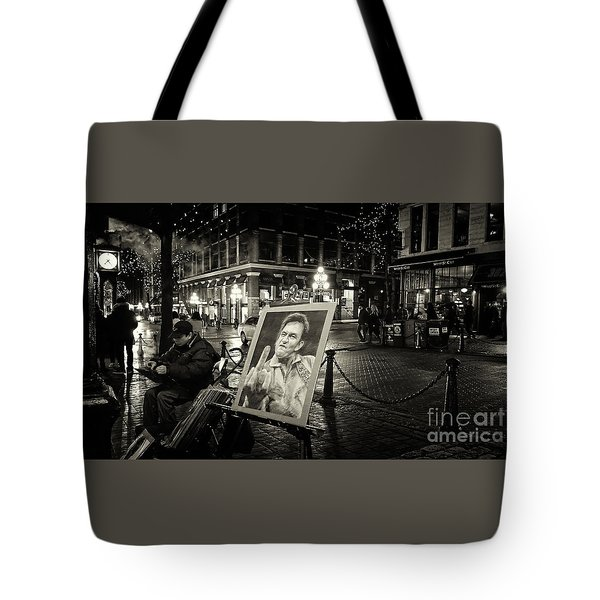 Steamin' Johnny Tote Bag