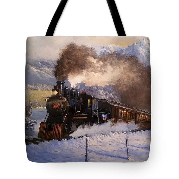 Steamin South Tote Bag