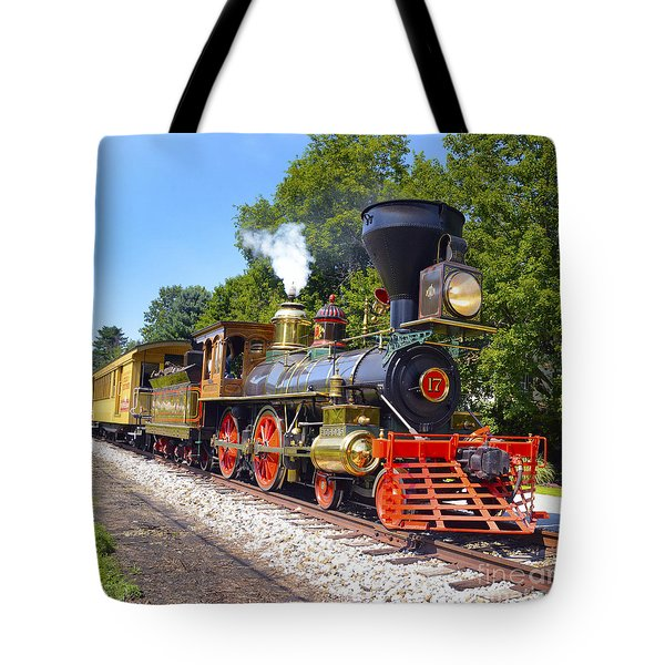 Steaming Into History Tote Bag