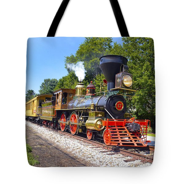 Steaming Into History Tote Bag by Paul W Faust -  Impressions of Light