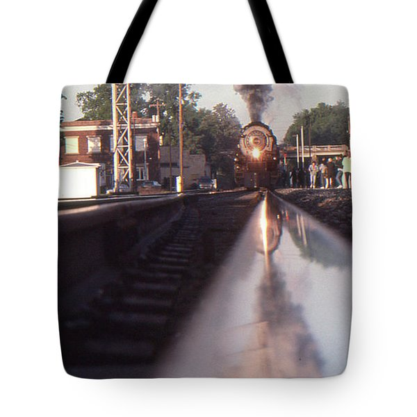 Steaming Up Tote Bag