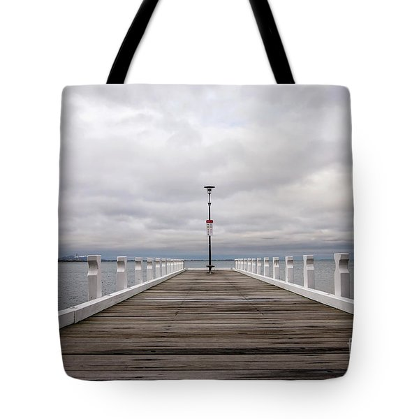 Tote Bag featuring the photograph Steampacket Quay by Linda Lees