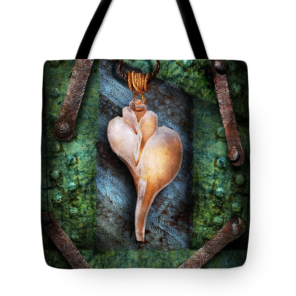 Steampunk - Sections  Tote Bag by Mike Savad