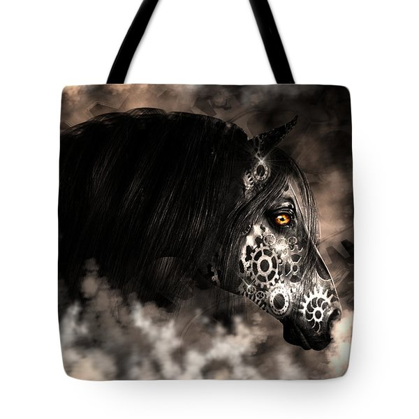 Steampunk Champion Tote Bag
