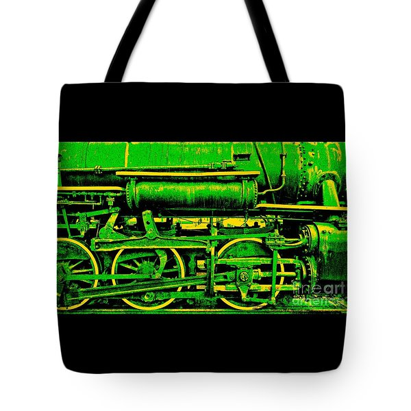 Steampunk Iron Horse No. 3 Tote Bag by Peter Gumaer Ogden