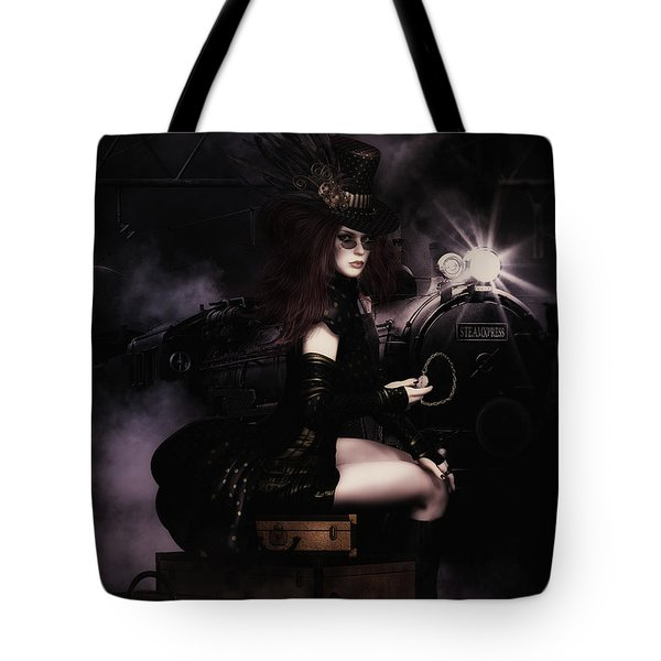 Steampunkxpress Tote Bag