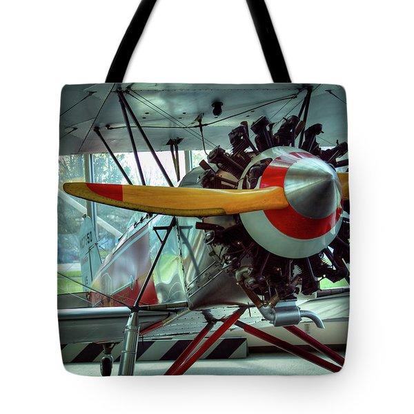 Stearman C-3b Tote Bag by David Patterson