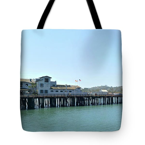 Stearns Wharf 2 Tote Bag