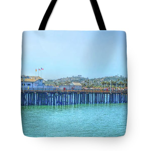 Stearns Wharf Tote Bag