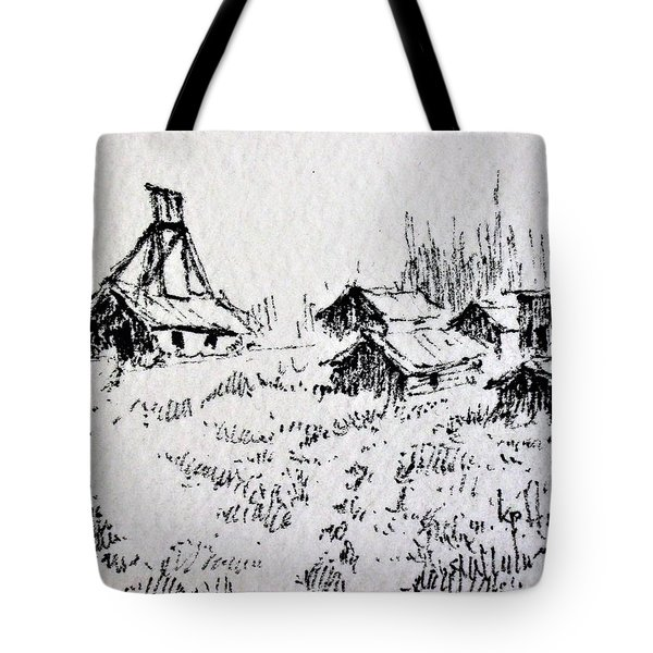 Steel Creek Mine Montana Tote Bag by Kevin Heaney