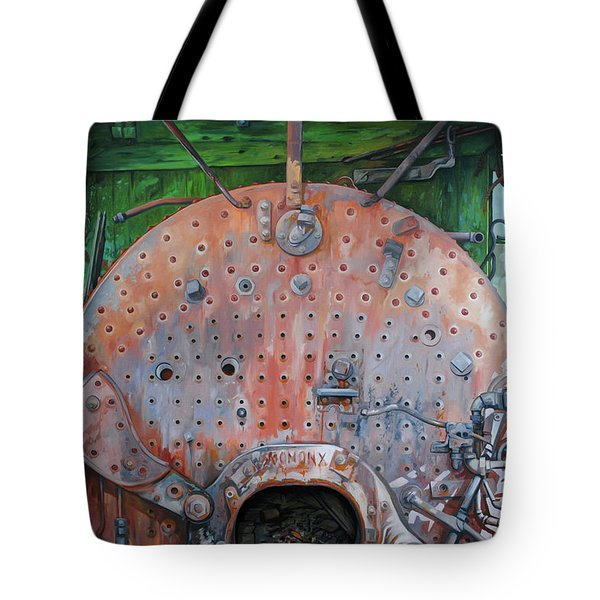 Steel Heart Tote Bag