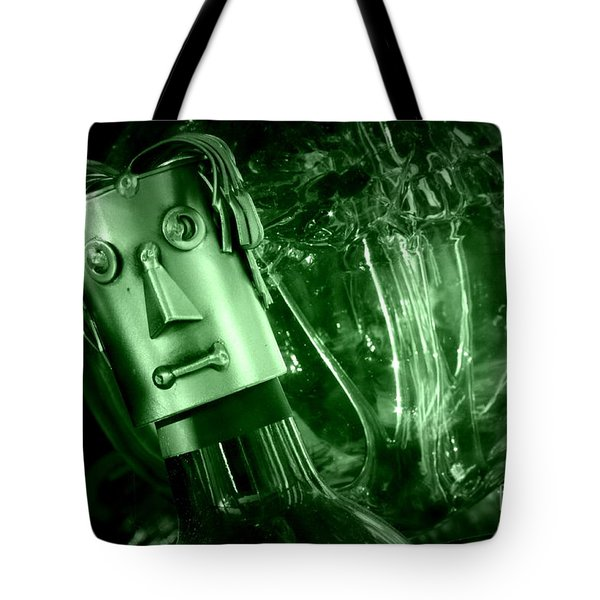 Steel Jelly Tote Bag