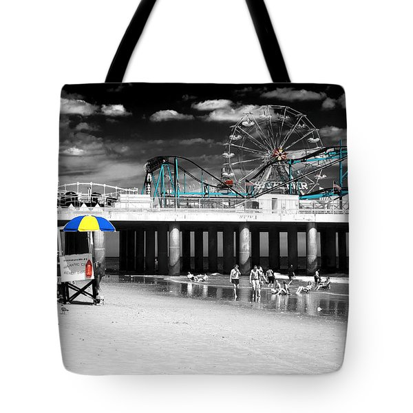 Steel Pier Fusion Tote Bag
