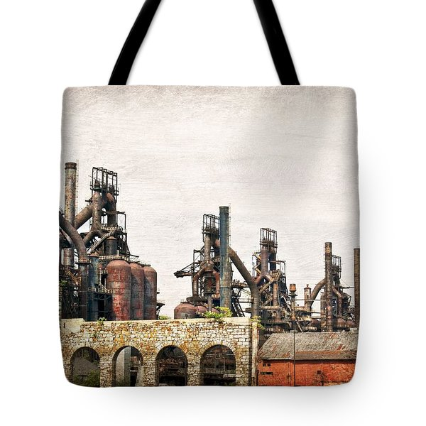 Steel Stacks  Tote Bag