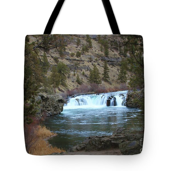 Steelhead Falls Tote Bag