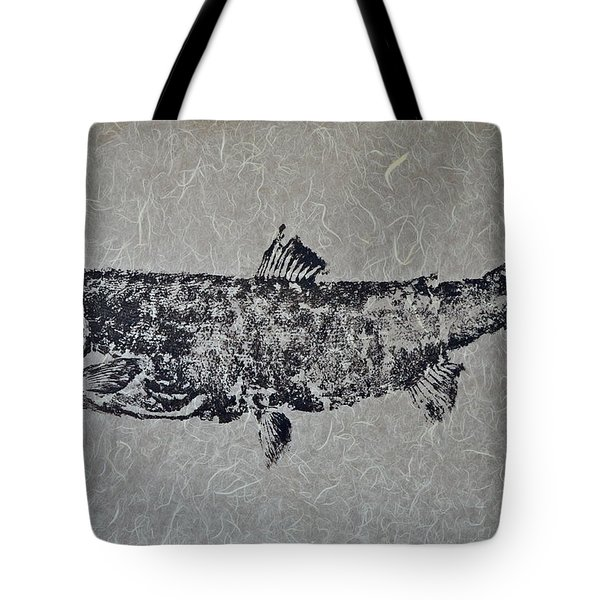 Steelhead Salmon - Smoked Salmon Tote Bag