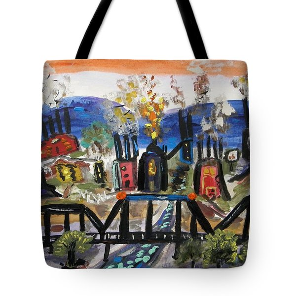 Steeltown U.s.a. Tote Bag by Mary Carol Williams