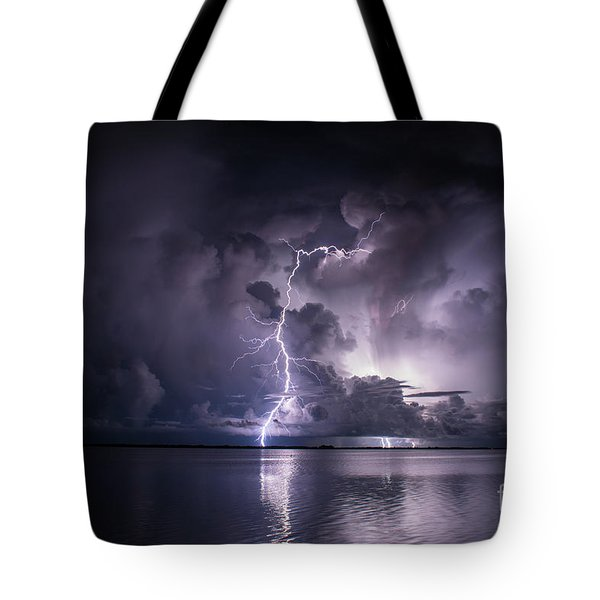 Steely Blue Tote Bag